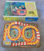 Vintage Coney Island Roller Coaster Vintage Ohio Art Toy With Box, For Display