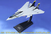 Hachette Collections 1100 F-14a Tomcat Usn Vf-84 Jolly Rogers Aj200