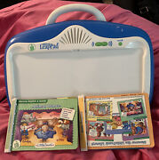 Leapfrog Little Touch Leap Pad With Pillow And 2 Books No Cartridge