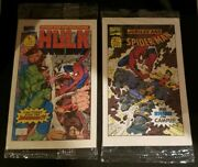 Drakes Cakes 1993 1994 Sets Sealed And Complete Spider-man Wolverine Hulk Comics