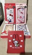Vintage Sanrio My Melody Standing Mirror Rare Red And 4 Hard Iphone 6 Case Collect