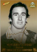 2008 Nrl Centenary Of R.l Team Of The Century Foil Signature Tcfs7 Andrew Johns