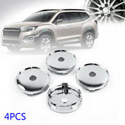 4pcs 60mm New Abs Silver Car Auto Vehicle Wheel Hubs Center Cap Covers Universal