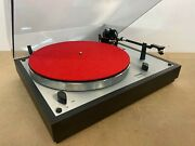 Vintage Thorens Td166 Mkii 2-speed Belt-drive Suspended Chassis Turntable
