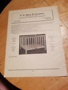 1944 Print Ad-p D Meid And Co-gunderson Pairpoint-hudson Glass Co-tole Lamps +