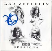 Led Zeppelin Bbc Sessions Robert Plant Stairway To Heaven Cd Iv Autograph Signed