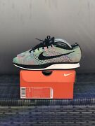 2016 Nike Flyknit Racer Andlsquomulti-color 2.0andrsquo Size 8 Ds