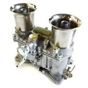 New 48 Ida Carburetor With Air Horns, Replacement For Weber Solex Dellorto