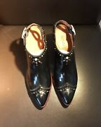 Coach G1981 New Black Leather Women's Boots Size 7