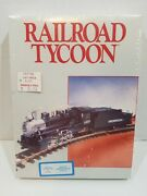 Railroad Tycoon Commodore 64 / 128 Disk Spinnaker 1987, New, Sealed Very Rare