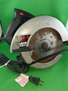 Skilsaw 5150 Circular Saw Tested Working Blade Included 120v 10a Made In Usa