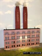O Scale Scratch Built Hershey Chocolate Co Factory Building Front Mth Lionel