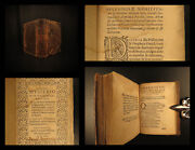 1571 Capuchin Titelmans Mysteries Of Christianity Miracles Virgin Mary Angels