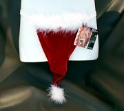 New Sexy Menand039s Thong Red Velvet Christmas Santa Hat G-string One Size Novelty