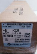 Franklin Electric Submersible Motor Water Well Pump 2343078602g
