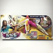 Nerf Rebelle Golden Edge Bow Toys R Us Exclusive Pink Gold Glitter Darts Hasbro