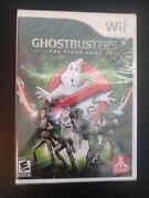 Ghostbusters The Video Game Nintendo Wii, 2009 Factory Sealed New