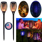 Solar Torch Lights Outdoor 33/96 Led Flames Lights Christmas Lights Decorations