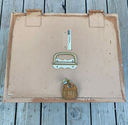 Vintage Victor Floor Fire Safe W/lock Class 350-1 Great Condition Local Pick Up