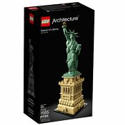 Lego 21042 Architecture Statue Of Liberty New With Box