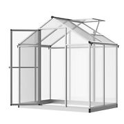 4' L X 6' W Stable Outdoor Walk-in Cold Frame Garden Greenhouse Planter