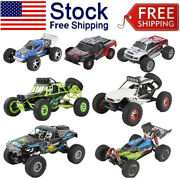 Wltoys Rc Car Big Foot High Speed Bug-gy Off Road Truck Kid Toy Gift Lot Us E7r2