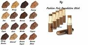 Fashion Fair Fast Finish Foundation Stick Assorted Colors New In Box Rare Item