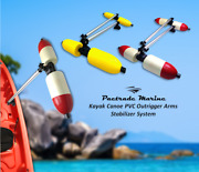 Pactrade Marine Boat Kayak Canoe Pvc Stabilizer System Outrigger Arms Fishing