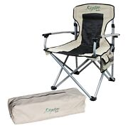 Offgrid Oversized Heavy Duty Folding Outdoor Camping Beach Chair Seat Portable