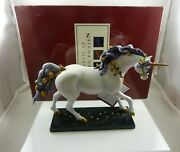 Unicorn Wish Upon A Star Figurine Painted Ponies Westland Giftware Retired 12265