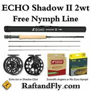 Echo Shadow Ii 2wt 10and0390 Outfit - Free Nymph Line