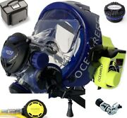 Ocean Reef Neptune Space G.divers Full Gsm Radio Coms Diving Mask Sm Cb Package