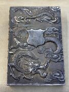 Sterling Silver Chinese Export Wang Hing Calling Card / Cigarette Case