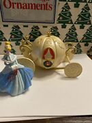 Cinderella And Her Coach Disney Grolier Members Only Christmas Ornament New In Box