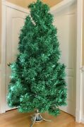 Vintage Green Aluminum Christmas Tree - 6.5 Ft 193 Branches