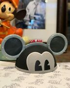 Mickey Mouse Bret Iwan Light And Sound On Air Ears Hat Designer Ships Asap
