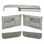 Coverlay 18-601cw Light Gray Interior Combo Kit For C10 Pickup Blazer