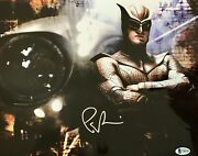 Patrick Wilson Nite Owl- Watchman Signed Authentic 11x14 Photo- Bas T96760