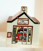 Wade Porcelain Houses Fire Station 31 Whimsey On Why From Original Set Of 4