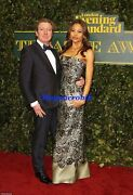 Dolceandgabbana Guipure Lacee Mbroidered Strapless Gown It38 Us2-us4