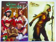 Zenescope Grimm Fairy Tales 2011 Holiday Edition + 2011 Halloween Special Lot Vf