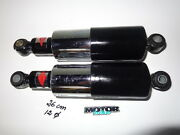 Betor Black And Chromed Shock Absorbers For Classic Bike 26 Cm Axle To Axle