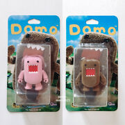 Domo 2 Qee Blister Pack Flocked Pink Brown Collectible Figures Dark Horse Toy2r