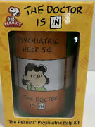 Peanuts Psychiatric Help Kit The Doctor Is In Lucy Charlie Brown Bank