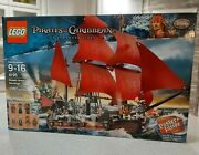 New Lego Queen Anneand039s Revenge 4195 Pirates Of The Caribbean Ship Disney