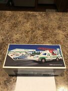 1994 Hess Rescue Truck New Old Stock Unopened Sounds And Lights Emergency Rescue