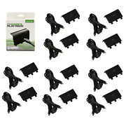 Wholesale Lot Of 10 Microsoft Xbox One Black Play And Charge Pak Adapter Kmd New
