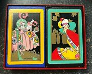 Art Deco Playing Cards The Belle Anddolores 1929 R. H. Stearns Russell And Morgan
