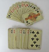 Antique Austrian And French Royalties Playing Cards Set