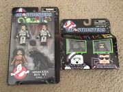 Ghostbusters Minimates Lot Series 1 Peter Egon Dana Louis And Sdcc Gitd Stay Puft